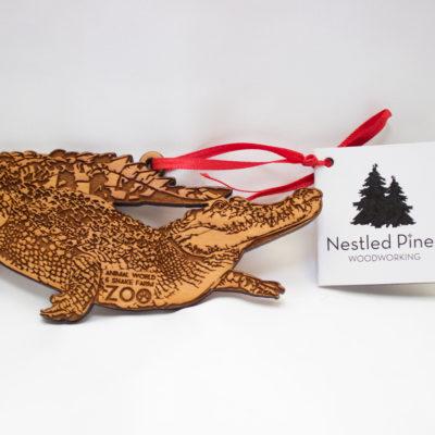 Animal World and Snake Farm Zoo Christmas Ornament