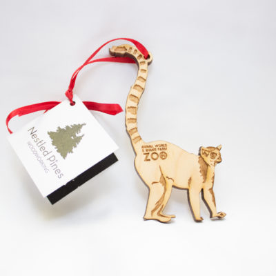 Animal World and Snake Farm Zoo Christmas Ornament