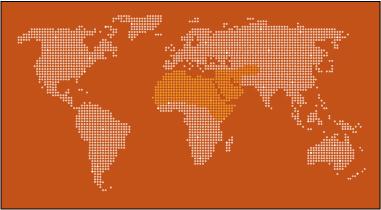 Dromedary Camel Map
